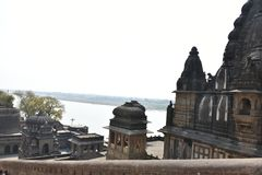 Ahilyeshwar temple, Maheshwar, Madhya Pradesh royalty free stock photography