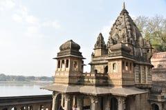 Ahilyeshwar temple, Maheshwar, Madhya Pradesh stock photography