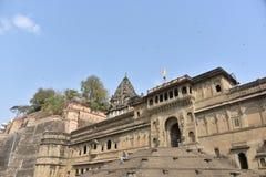 Ahilyeshwar temple, Maheshwar, Madhya Pradesh stock image