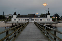Ahlbeck in Germany. Ahlbeck is a district of the Heringsdorf municipality on the island of Usedom on the Baltic coast. Germany Stock Images