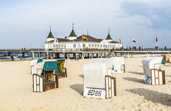 Ahlbeck Pier Royalty Free Stock Photography