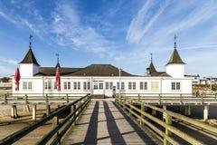 Ahlbeck Pier. A landmark of Usedom Island Stock Image