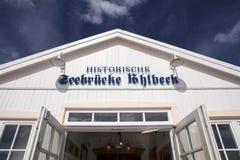 Ahlbeck przy morzem bałtyckim na Usedom wyspie, Mecklenburg- Vorpommern, Niemcy Zdjęcia Royalty Free