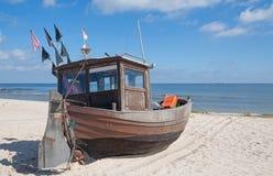 Ahlbeck Usedom ö, baltiskt hav, Tyskland royaltyfria foton