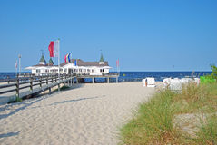 Ahlbeck,usedom island,Baltic Sea,Germany Royalty Free Stock Photo