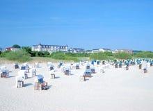 Ahlbeck, Usedom, morze bałtyckie, Niemcy Zdjęcie Royalty Free