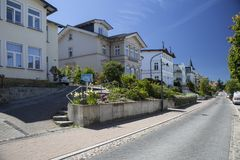 Ahlbeck w Niemcy Zdjęcie Royalty Free