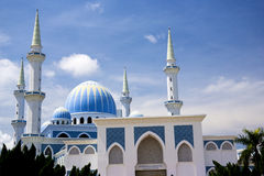 ahmad ja Malaysia meczetu sułtan Fotografia Royalty Free