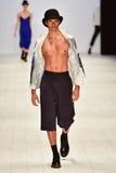 Ahmad Taufik pokaz mody Zdjęcie Royalty Free