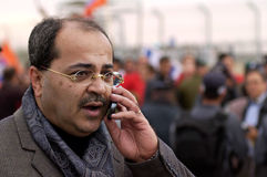 Ahmad Tibi - Israel Parliament Member Royalty Free Stock Image