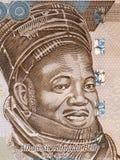 Ahmadu Bello portret Zdjęcie Stock