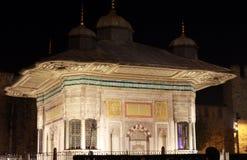 ahmed fontanny iii Istanbul sułtan Zdjęcie Royalty Free
