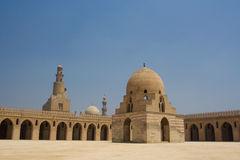 Ahmed Ibn Tulun Mosque in Kaïro, Egypte Stock Afbeelding