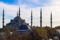 ahmed Istanbul meczetowy sułtanu indyk Obraz Royalty Free