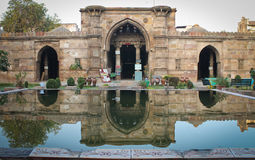 Ahmed Shahs Moschee lizenzfreie stockfotos