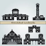Ahmedabad landmarks and monuments Stock Images