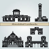 Ahmedabad landmarks and monuments Stock Photography