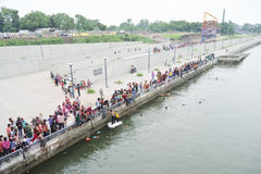 Ahmedabad :Preparation for  Ganesha Charturthi Festival Stock Photos