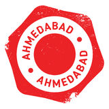 Ahmedabad stamp rubber grunge Stock Photo