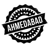 Ahmedabad stamp rubber grunge Royalty Free Stock Photos