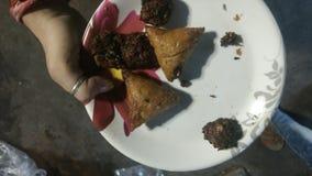 Ahmedabadi Samosa photos stock