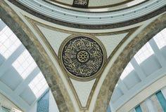 Ahmet Hamdi Akseki meczetu wnętrze Zdjęcia Stock