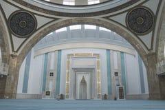 Ahmet Hamdi Akseki meczetu wnętrze Obraz Stock
