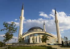 Ahmet Hamdi Akseki Mosque Stock Photo