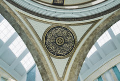 Ahmet Hamdi Akseki Mosque interior Stock Photos