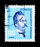 Ahmet Rasim (1863-1932), escritor, serie de las personalidades, circa 1964 Imagenes de archivo