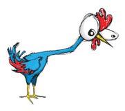 Ahnungsloses Huhn vektor abbildung