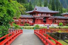 aho byodo Hawaii o świątynia Zdjęcia Royalty Free