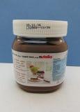 Ahoj Ferrero czech Nutella w Praga Fotografia Stock