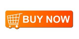 Ahora compre la naranja libre illustration