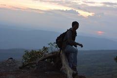 Ahorn, Blatt, Phukradueng, Loei Stockfoto