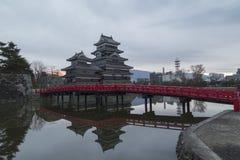 Ahorn-Korridor in Nashigawa-Fluss, Japan Stockfoto