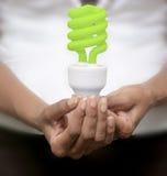 Ahorrador de energía Foto de archivo
