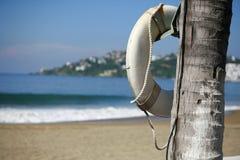 Ahorrador de vida de la playa Fotografía de archivo libre de regalías