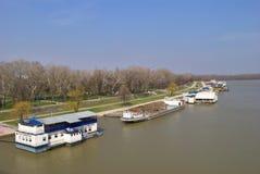 Ahorre el río - visión desde el puente del ` s de Branko Fotografía de archivo libre de regalías