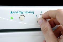 Ahorro de energía Foto de archivo libre de regalías