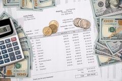 Ahorro de las finanzas y concepto de la inversión foto de archivo