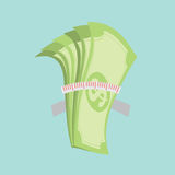 Ahorro del dinero, el concepto de la austeridad Fotografía de archivo