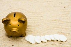 Ahorro para sus vacaciones Imagen de archivo libre de regalías