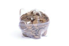 Ahorros caseros Foto de archivo libre de regalías