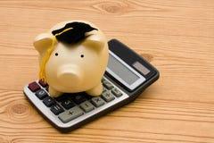 Ahorros de la educación Imágenes de archivo libres de regalías