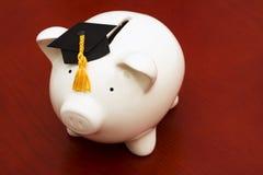 Ahorros de la educación Foto de archivo libre de regalías