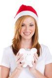 Ahorros de la Navidad Fotografía de archivo libre de regalías