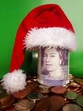 Ahorros de la Navidad Fotografía de archivo