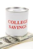 Ahorros de la universidad Fotos de archivo libres de regalías