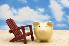 Ahorros de las vacaciones fotos de archivo libres de regalías